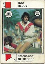 1974 Nrl Rugby League Scanlens (67) Rod REDDY St. George *