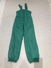 Childs Green Ski Salopettes SZ 152cm #513