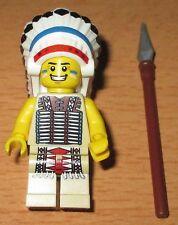 Lego Serie 3 Sammelfigur - Stammeshäuptling