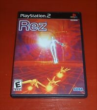 Rez (Sony Playstation 2, PS2) -Complete