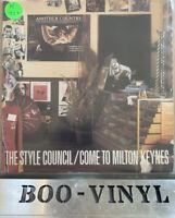 "The Style Council - Come To Milton Keynes 7"" VINYL UK 1985 Gatefold EX+"