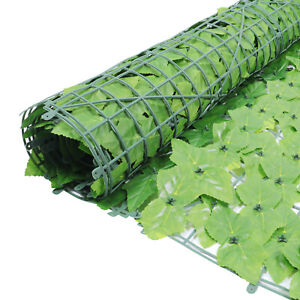 """Privacy Artificial Fence Screen Faux Ivy Leaf Privacy Screen Hedge 118 x 39"""""""