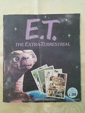 ALBUM FIGURINE PANINI 1982 E.T. EXTRA-TERRESTRE COMPLETO 120 figurine Vintage 80