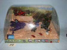 H41 VINTAGE MEGA BLOCKS HALO STORE ENDCAP END CAP DISPLAY CASE