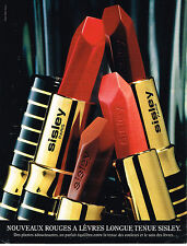 PUBLICITE ADVERTISING 045  1997  SISLEY  collection rouge à lèvres