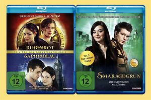 ••••• Rubinrot, Saphirblau + Smaragdgrün (3 Blu-rays)☻