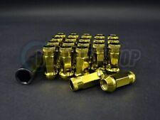 Muteki SR48 Lug Nuts Open End Yellow 12x1.5mm thread pitch