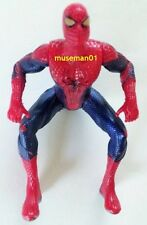 2012 AMAZING SPIDER-MAN FIGURE ~ Dark Blue & Red Costume ~ Poseable ~ @LOOK@