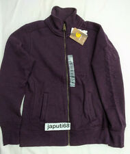 Carhartt Ladies Dunlow Sweatshirt sz XSmall Plum HTHR [CBX#27-706)