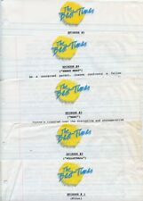 JANET EILBER BETH EHLERS THE BEST TIMES EPISODE GUIDE 1985 NBC TV PRESS MATERIAL