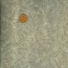 Kona Bay Serene Collection Nobu Fuji 84 Taupe Oriental 100% Cotton Fat Quarter