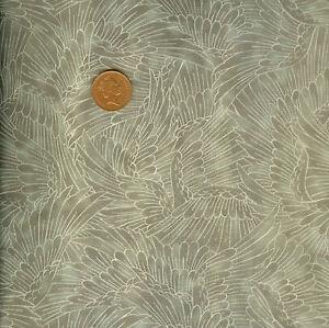 Kona Bay Serene Collection Nobu Fuji 84 Taupe Oriental 100% Cotton Fat Quarter