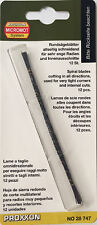 Proxxon 12 x Scroll saw blades 1.2mm 28747 / Direct from RDGTools