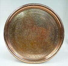 Kupfer Tablett Türkei um 1900