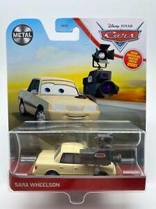 """Disney Pixar Cars Diecast 2021 Metal Sara Wheelson """"VHTF"""""""
