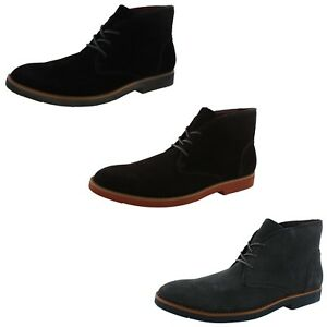 BUKS BY WALK OVER MENS WALLEN SUEDE CHUKKA BOOTS