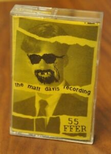 55FFER - The Matt Davis Recording (1994, Holly, Michigan Indie Rock Cassette)