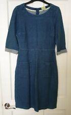 Joules Blue Denim Dress. Size 10. Brand New