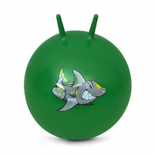 Hüpfball Gummiball Sprungball Springball Hopser mit Griffe 60 cm SHARKY Spokey