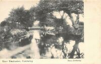 POSTCARD  SURREY - CAMBERLEY -  RIVER BLACKWATER - RP