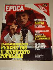 EPOCA=1980/1531=WILLIAM BURROUGHS=MEZZENILE=URSULA ANDRESS=ANTONIO BRAMBILLA=