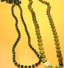 LOT MARDI GRAS Necklaces - Coins & Disco Balls!