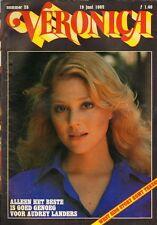VERONICA 1982 nr. 25 - AUDREY LANDERS  /QUARTERFLASH/LINDA LAVIN/KARLA WILDSCHUT