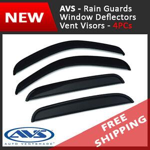 AVS Vent Visor Window Deflector Rain Guard for 2003-2011 Honda Element