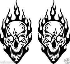 rc/hobby airbrush stencil's-paint mask's-skull&flames#3 (SINGLE USE ONLY)