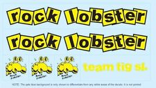 Rock Lobster Bicycle Decals-Transfers-Stickers #1