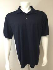 Exertek Athletic Shirt Men L Black White Outdoor Sport Golf Short Sleeve