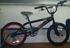 BICICLETTA 20 BMX SQUEEZE MBM BICI FREESTYLE COLORE NERO E ARANCIO BIKE