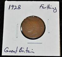 Great Britain/UK, 1928 Farthing