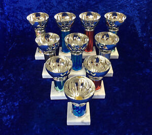 BARGAIN BOX of 10 Bowl Cup Awards Trophy Sport Dance Boxing School FREE engravin