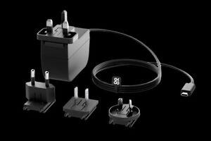 OKdo Raspberry Pi 4 Universal Power Supply 3A USB-C – Black