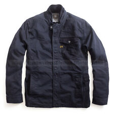 G-STAR RAW MENS A CROTCH OVERSHIRT JACKET MILITARY MAZARINE BLUE SIZE  L /LARGE