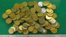 New ListingLarge Lot of Miscellaneous Vintage Tokens / Exonumia Coins