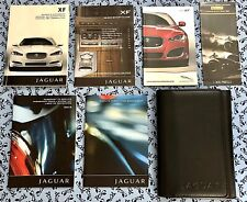 2013 JAGUAR XF OWNERS MANUAL w NAVI OEM SET XFR XFR-S SUPERCHARGED 5.0L V8  A+