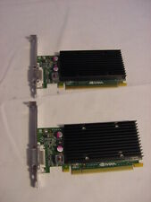 (2) NVIDIA NVS 300 PCI-E GRAPHICS VIDEO CARD - TESTED WORKING