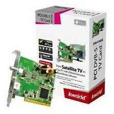 KWORLD DVB-S 100SE PCI Satellite Free-to-Air, Remote, S-Vide