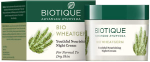 Biotique Wheat Germ Firming Face and Body Cream for Normal to Dry Skin