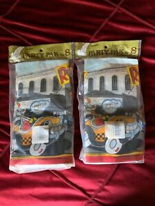 WHO FRAMED ROGER RABBIT VINTAGE PARTY PACK for 8 (25pc) ~ Birthday Supplies Cups
