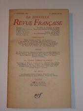 NRF NOUVELLE REVUE FRANCAISE 1963 N°131 - ARAGON ROGER CAILLOIS - LE CLEZIO