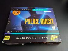 Police Quest Collection Series 1997 PC Windows game LN perfect discs COMPLETE-!
