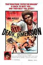 Death Dimension Poster 01 A2 Box Canvas Print