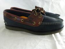 Timberland Hommes 2 Eye Black Nubuck Tan Casual Flats Womens Boat Shoe 5.5W $147