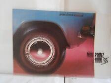 Catalogue  voiture   pub auto  prospectus NSU prinz 1000 SS