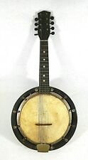 8 String Mandolin & Banjo-Vintage/Antique, ca. 1920's-30's