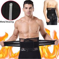 Mens Waist Trimmer Belt Weight Belly Loss Sweat Burner Fat Body Slimming Shaper