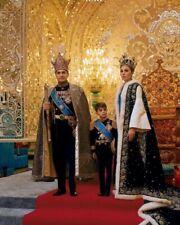 THE SHAH OF IRAN MOHAMMAD SHAH PAHLAVI POSES 8X10 PHOTO PRINT 28012002972